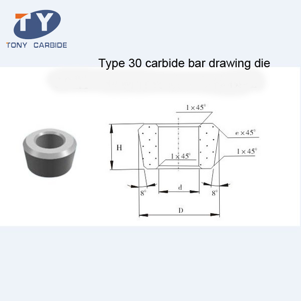 30 Type Carbide Rod Drawing Die