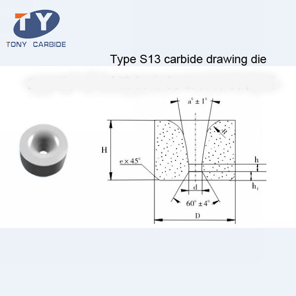 S13 Type Carbide Rod Drawing Die