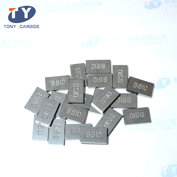 Tungsten Carbide SS10 tips for mining tools